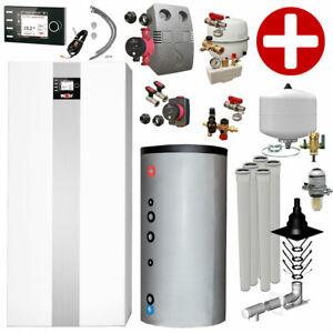 Plus+Paket Öl-Brennwertkessel Wolf COB-2-15 9,6-15,4 kW Speicher TWS 150 L