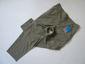 NWT Columbia PFG Aruba IV in Green Convertible UPF 15 Nylon Pants L x 31