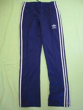 Pantalon Adidas Originals Violet et argent Femme Style vintage Survetement - 32