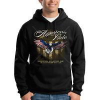 American Flag Hoodie USA Army Military USMC Eagle Patriotic Sweatshirt S-3XL Men