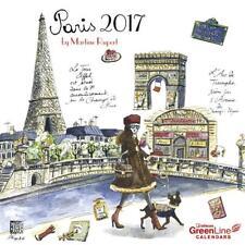 CALENDRIER 2017 - PARIS - 30 x 30 cm