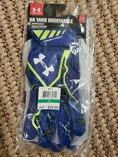 New Men's UA Under Armour Yard Undeniable Baseball Batting Gloves - L