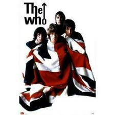 The Who Poster Band Wrapped In Union Jack Blanket