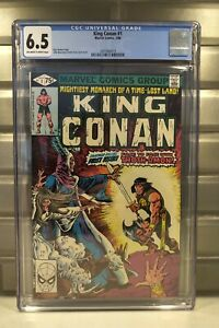 King Conan #1 (Mar.1980) Marvel Comics CGC 6.5 FN+ (off white to white pages)