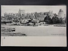 WINDSOR CASTLE Across the River Thames c1902 UB Postcard by Raphael Tuck 1397