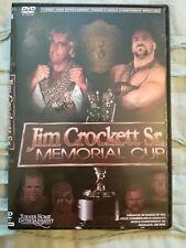 1988 NWA Crockett Cup Pro Wrestling dvd WWE ECW WCW AEW njpw Flair Rhodes