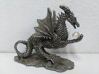 Daltec Designs Metal Dragon Statue