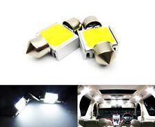 2x White COB LED DE3022 DE3175 for SUBARU Interior Dome Light 31mm Festoon Bulb