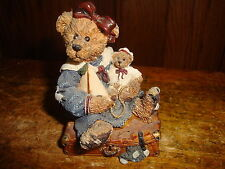 Bailey Bear With Suitcase Boyds Bears & Friends Boyds Collection