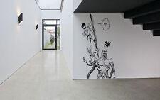 Wall Decor Vinyl Sticker Mural Poster Parasyte Anime Cartoon Show Comics SA1238