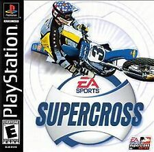Sony PlayStation 1 SUPERCROSS NEW SEALED