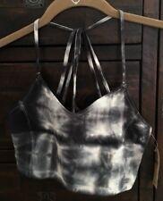 Edgy AEO Cotton Stretch Bralette- Size XS- Black & White Tie Dye- New w/ Tags!
