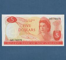 NEUSEELAND / NEW ZEALAND 5 Dollars (1977-81) UNC  P.165 d