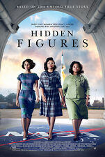 Hidden Figures Movie Fabic Silk Poster 24in*36in Wall Home Decor