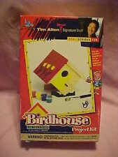 Tim Allen Signature Stuff Birdhouse Project Kit - NEW in opened box