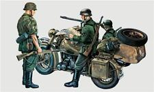 Bmw R 75 With Side Car Moto Kit 1:35 Italeri IT0315