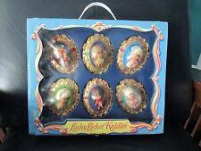 6 Vintage Liddle Kiddles Lucky Locket Dolls Carrying Case Liz Lorna Little Larky