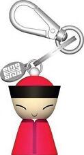 A di Alessi - ASG87 R - Mr. Chin, Key ring - RED