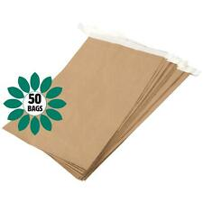 More details for eco friendly paper mailing manilla brown bag/sack - 330 x 100 x 485mm - 50 bags