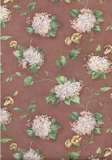 Purple and Pink Hydrangeas on a Purplish  Brown Backgrond Wallpaper -IA790826