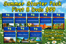 Bike-O-Vision's $99 SUMMER CYCLING STARTER 8-DVD PACK