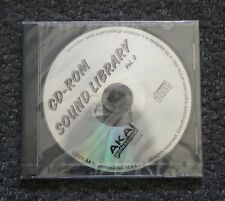 Akai CD-ROM Sound Library Vol.0 (APCD006) - Rare Sample CD! 2001