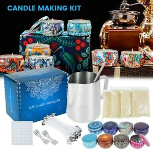 Candle Making Kit Diy Candles Craft Tool Set Pouring Pot Wicks Wax Kit Gifts AU
