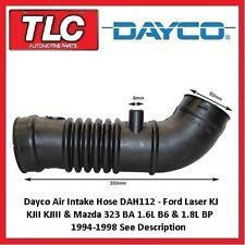 Dayco Air Intake Hose Ford Laser KJ KJII KJIII 10/94-3/99 Mazda 323 BA 7/94-9/98