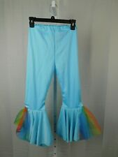 My Little Pony Girl's Bell-Bottom Halloween Costume Pants - 7-8 Medium #8365