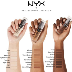 NYX Can't Stop Won't Stop Full Coverage Foundation Choose Your Shade New