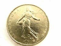 1971 French One (1) Franc Coin