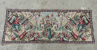 Vintage French Beautiful Arabian Scene Tapestry 136x53cm (A631)