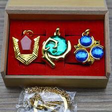 Legend of Zelda Spiritual Stones Set of Charms Ocarina of Time set 3PC