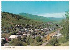 PARK CITY Utah - c1970 POSTCARD Continental DOWNTOWN VIEW