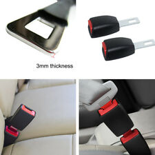 2Pcs Auto Car Safety Seat Belt Buckle Clip Extension Adapter Extender 25mm Width