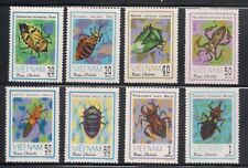 Vietnam   1982   Sc #1221-28  Insects   MNH   (10395 )