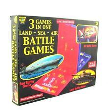 A-Z Juego Series 3-in-1 Tierra / Mar y Aire Batalla Juegos - 2 Jugadores