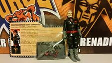 GI Joe Convention 2015 JoeCon Iron Grenadier General Mayhem *LOOSE/COMPLETE*