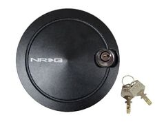 NRG Steering Wheel Quick Release Hub Quick Lock With 2 Keys Black (New Version)
