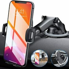 Amwanan Car Phone Mount, Hands-Free Cell Phone Holder for Dashboard, Windshield