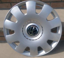 two 15 Inch Wheel Cover VW Logo Jetta Beetle 2004 GOLF JETTA HUB CAP WHEEL RIM