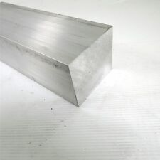 "3"" x 3.5"" Aluminum 6061 Flat Bar 10.875"" Long new mill stock sku K349"