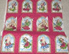 NewAngels Of Christmas Fabric100% Cotton By Ingrid for The Erlanger Group
