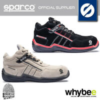 07504 SPARCO URBAN H S3 SAFETY FOOTWEAR SUEDE LEATHER TRAINERS SAFETY FOOTWEAR