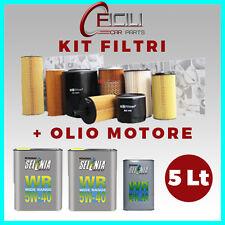 KIT FILTRI + OLIO (ALFA ROMEO 1.9 JTD Cv 120/150 - 1.9 JTDM 16V Cv 115/136)