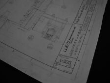 Disney World MK Haunted Mansion Blueprints-24 shts-1970's -36 x 48