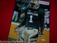 KENDALL WRIGHT Signed BAYLOR BEARS 11x14 COLLEGE FOOTBALL PHOTO JSA CERTIFIED