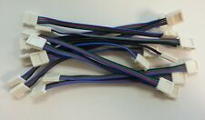 10x 10mm 3528/5050 RGB LED SMD Light Strip to Strip Connector PCB Adapter 4 Pin