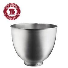 KitchenAid 3.5 Quart Brushed Stainless Steel Bowl, KSM35SSB