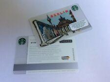 Starbucks card Germany  # 6136 NEW PRIFIX Berlin East Side Gallery
